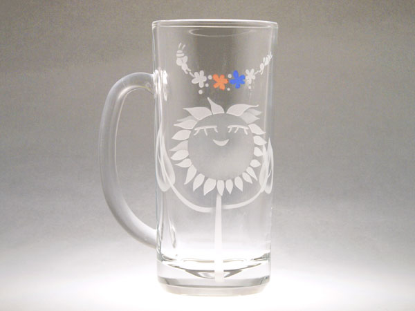 画像1: はなちゃんの乾杯ジョッキ(花輪)