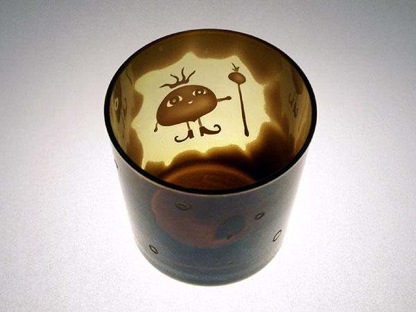 画像1: トマト王子のオールドグラス
