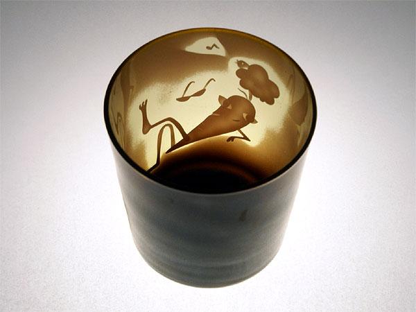 画像1: ニンジンのオールドグラス